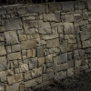 Solid Ground Retaining wall